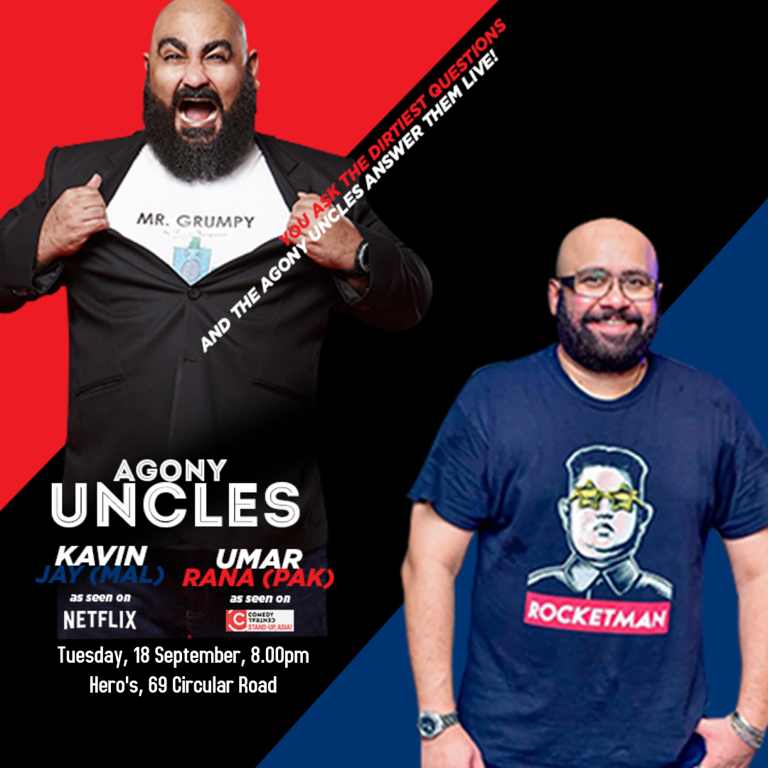 Agony Uncles - Poster - UR